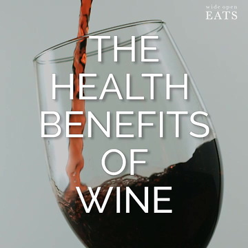 Benefits of wine….